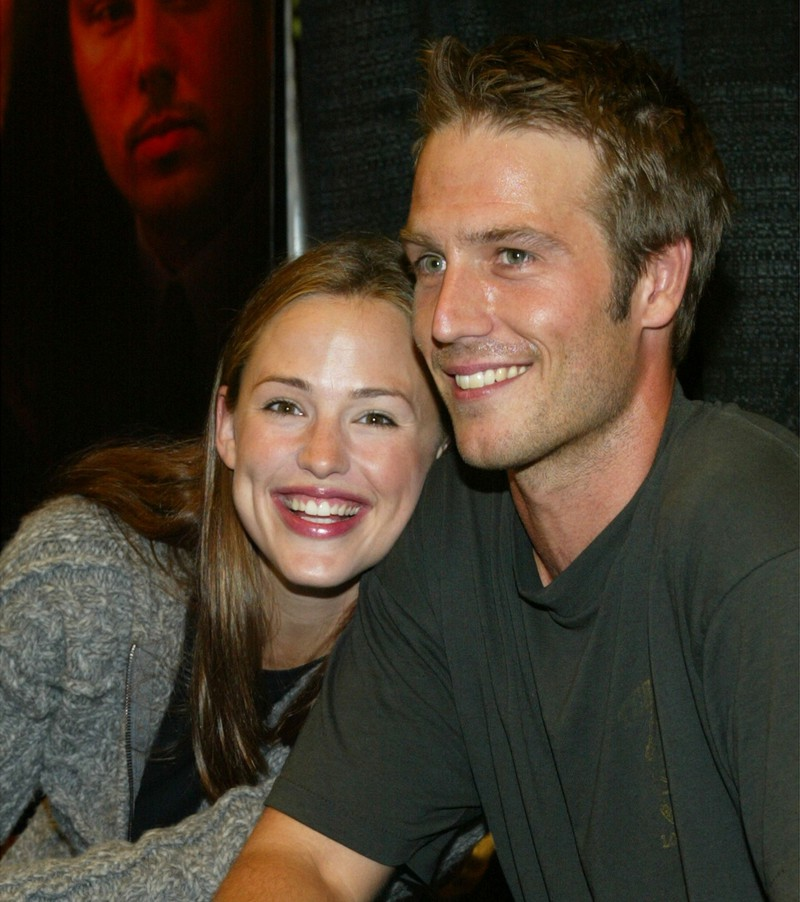 Auf dem Bild sieht man Jennifer Garner und Michael Vartan, die früher mal ein Paar waren,