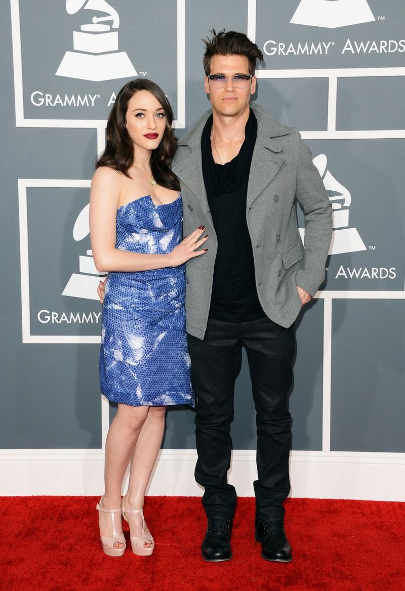 Auf dem Bild sieht man Kat Dennings und Nick Zano, die früher mal ein Paar waren,
