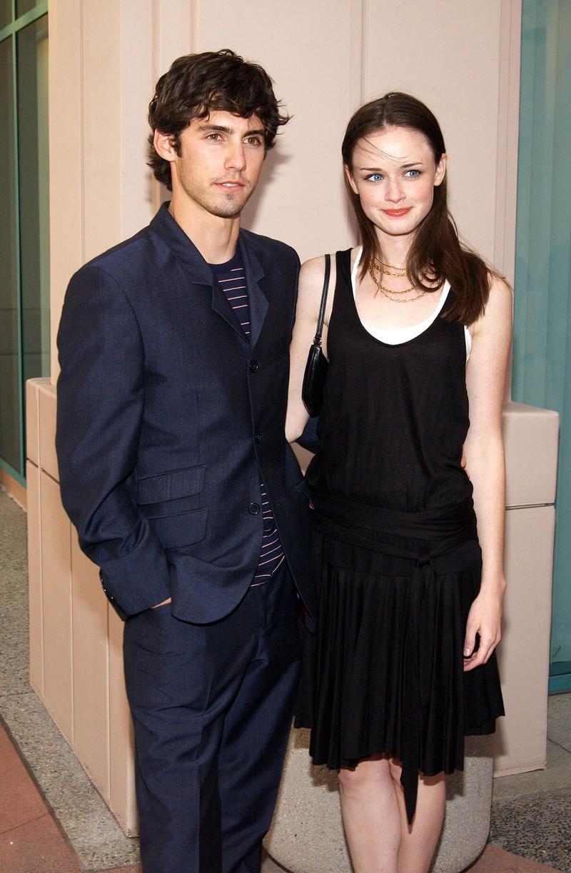Auf dem Bild sieht man Milo Ventimiglia und Alexis Bledel, die früher mal ein Paar waren.