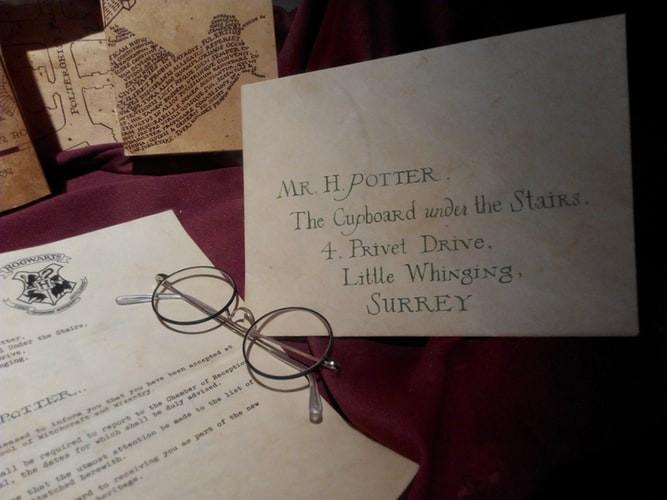Ein Abschnitt aus Harry Potter ist zu sehen und es geht um eine Studie.
