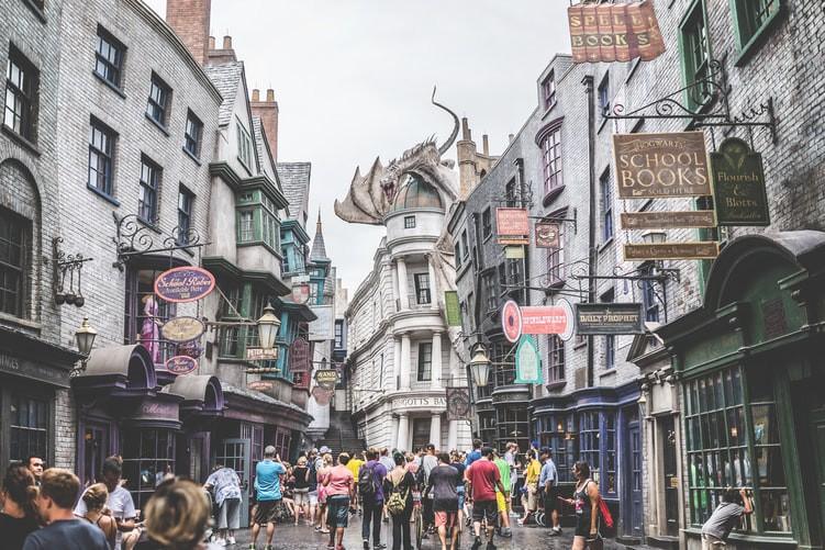 Ein Ort von Harry Potter ist abgebildet und es geht um eine Studie.
