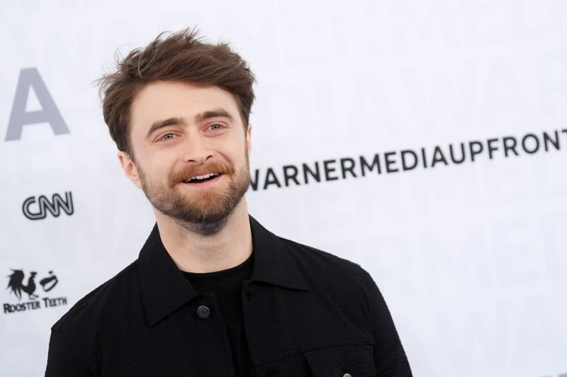 Daniel Radcliffe auf einem Event, unwissend um seinen geschichtlichen Lookalike.