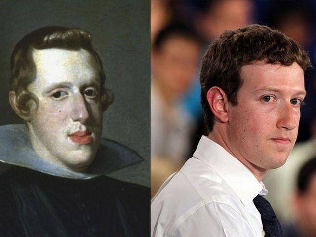 Mark Zuckerberg und Philip IV of Spain könnten zweieiige Zwillinge sein.