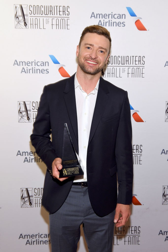 Justin Timberlake auf einer Preisverleihung
