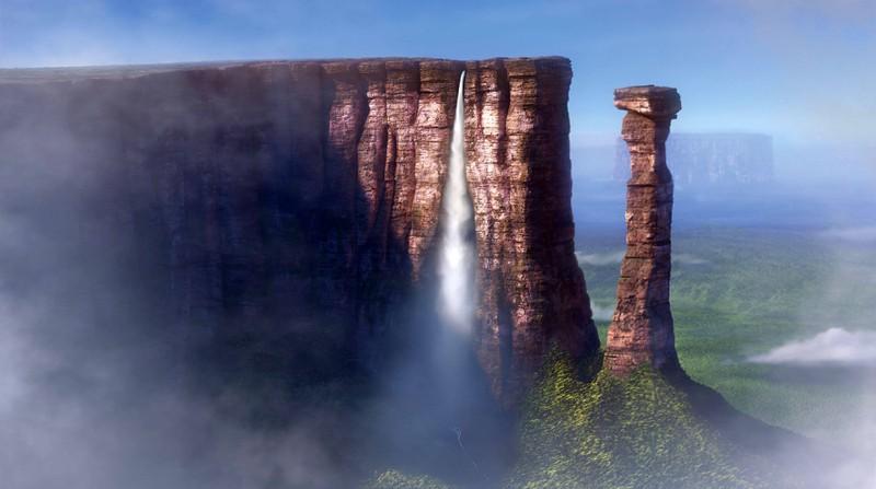 Aus welchem Film ist der Wasserfall?