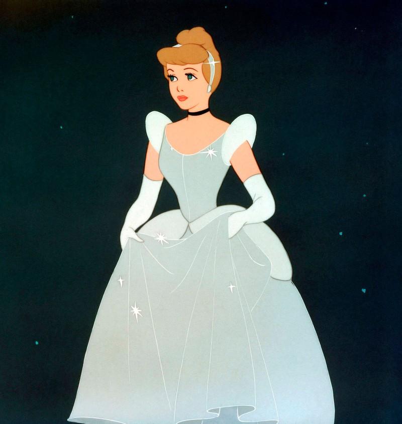 Cinderella auf dem Ball.
