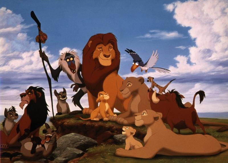 König der Löwen wurde gesucht.