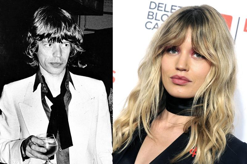 Georgia May Jagger ist ihrem Vater Mick wie aus dem Gesicht geschnitten.