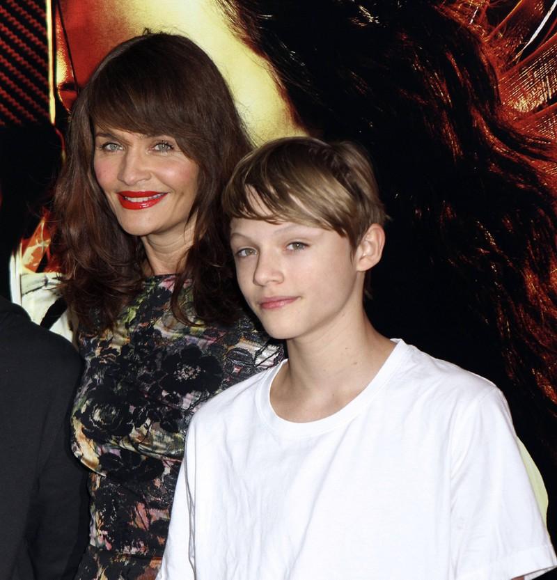 Mingus Lucien und Helena Christensensehen sich ähnlich.