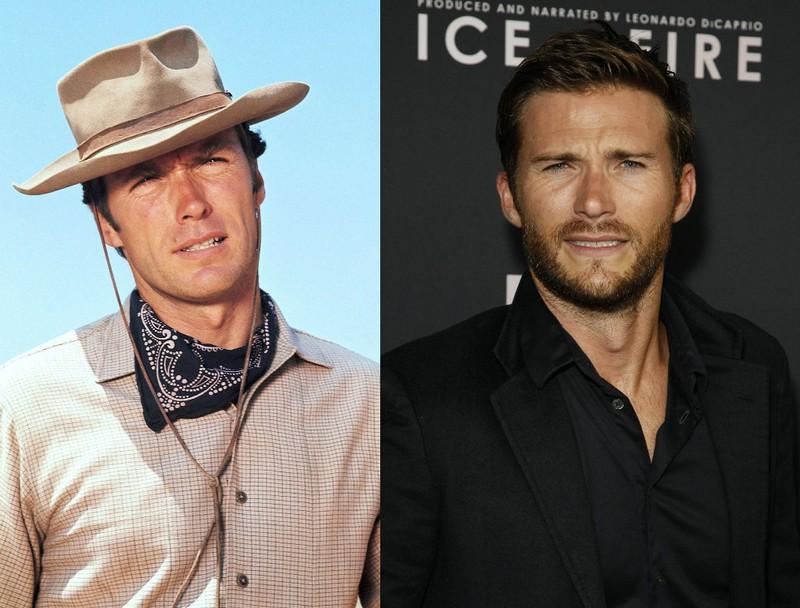 Scott Eastwood sieht aus wie sein Vater Clint in jungen Jahren.