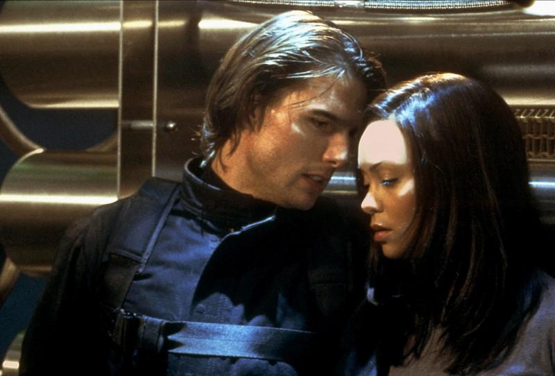 """In """"Mission Impossible 2"""" kam es zwischen Tom Cruise und Thandie Newton zu einem Kuss, doch sie genoss seine Kusskünste nicht."""