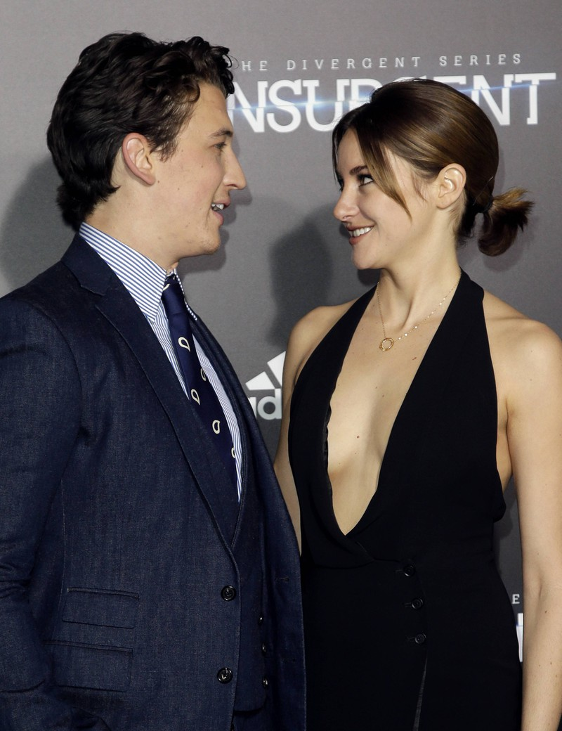 Miles Teller und Shailene Woodley hatten keinen schönen Filmkuss, da Shailene eine eklig-riechende Kräutermischung vor jedem Kuss zu sich nahm.