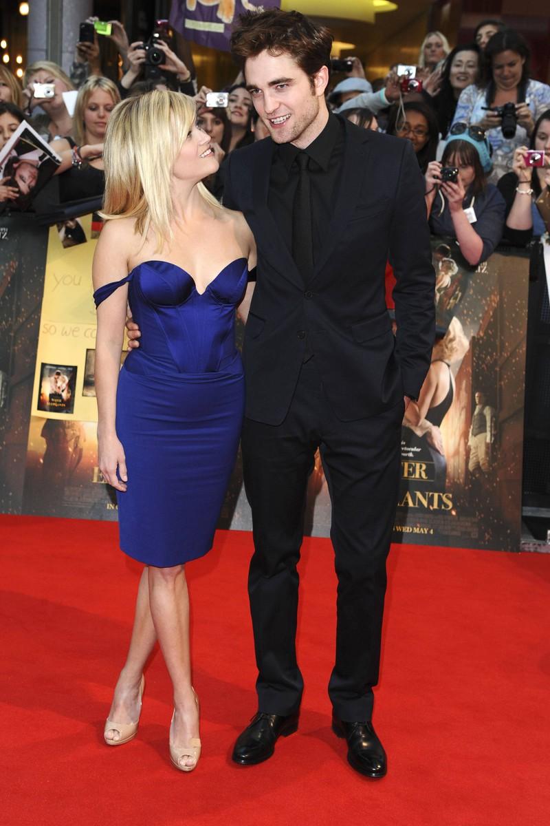 Robert Pattinson war zum Zeitpunkt des Kusses mit Reese Witherspoon erkältet, weswegen wir Kuss nicht unbedingt schön war.