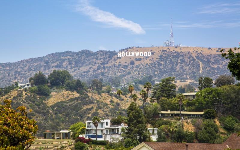 Man sieht Hollywood, wo viele Stars leben und schon in die Entzugsklinik eingewiesen wurden