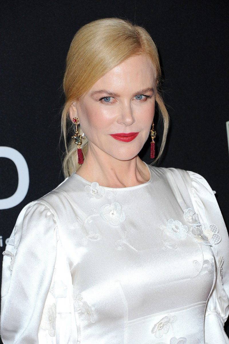 Nicole Kidman,  bei den Hollywood Film Awards am 3.11.2019 in Los Angeles, zeigt sich faltenlos