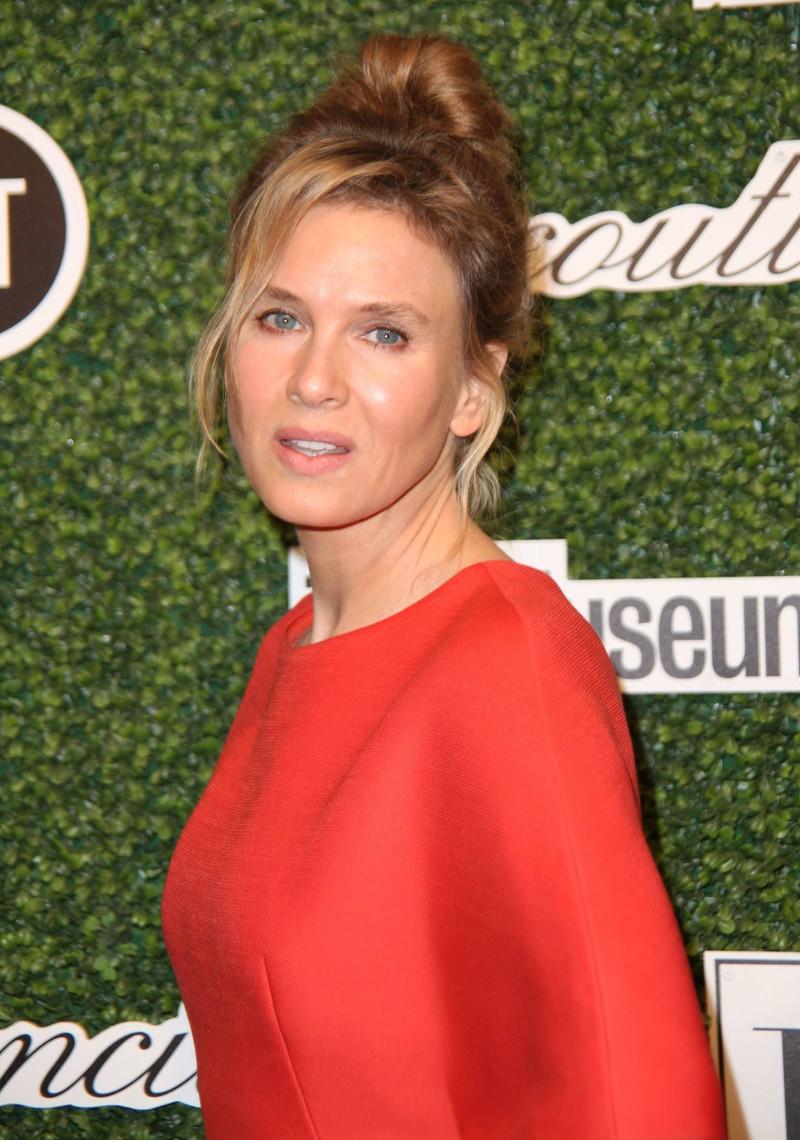 Renée Zellweger 2014 musste sich vorwerfen lassen, Botox zu spritzen