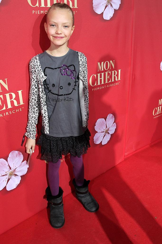 Cheyenne Ochsenknecht als Kind im Jahr 2010
