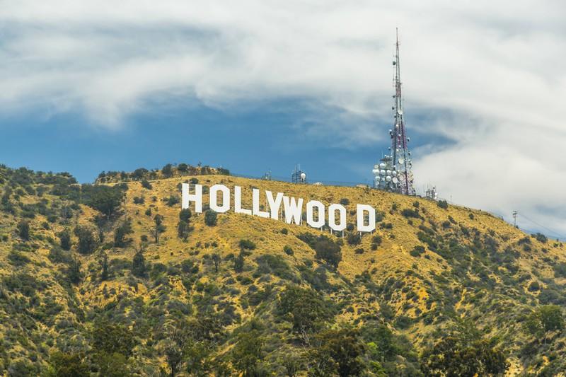 Das weltberühmte Hollywood-Sign.