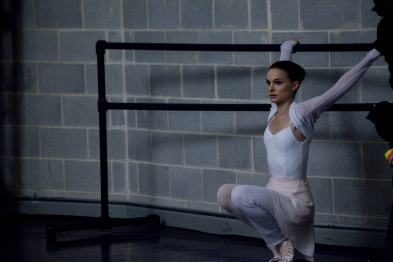 "Natalie Portman in ""The black swan"" mit 10 Kilo weniger."