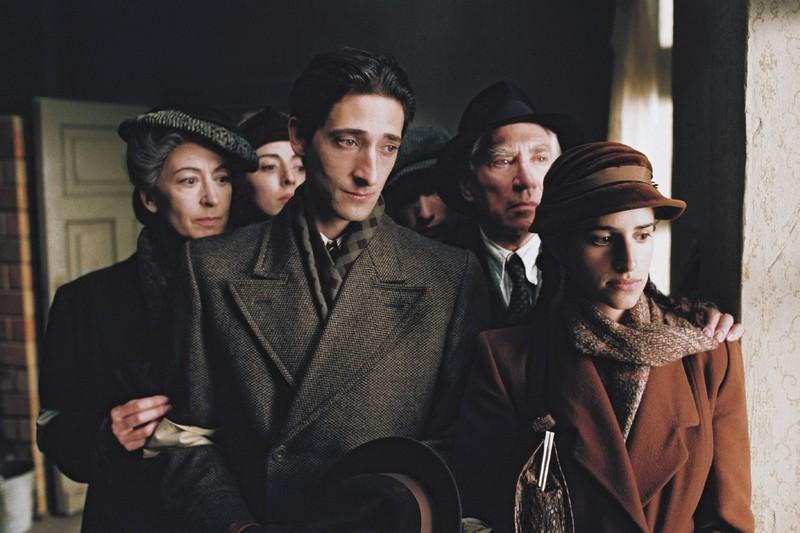 """""""Spillman"""" alias Adrien Brody in """"Der Pianist"""" aus dem Jahr 2002."""
