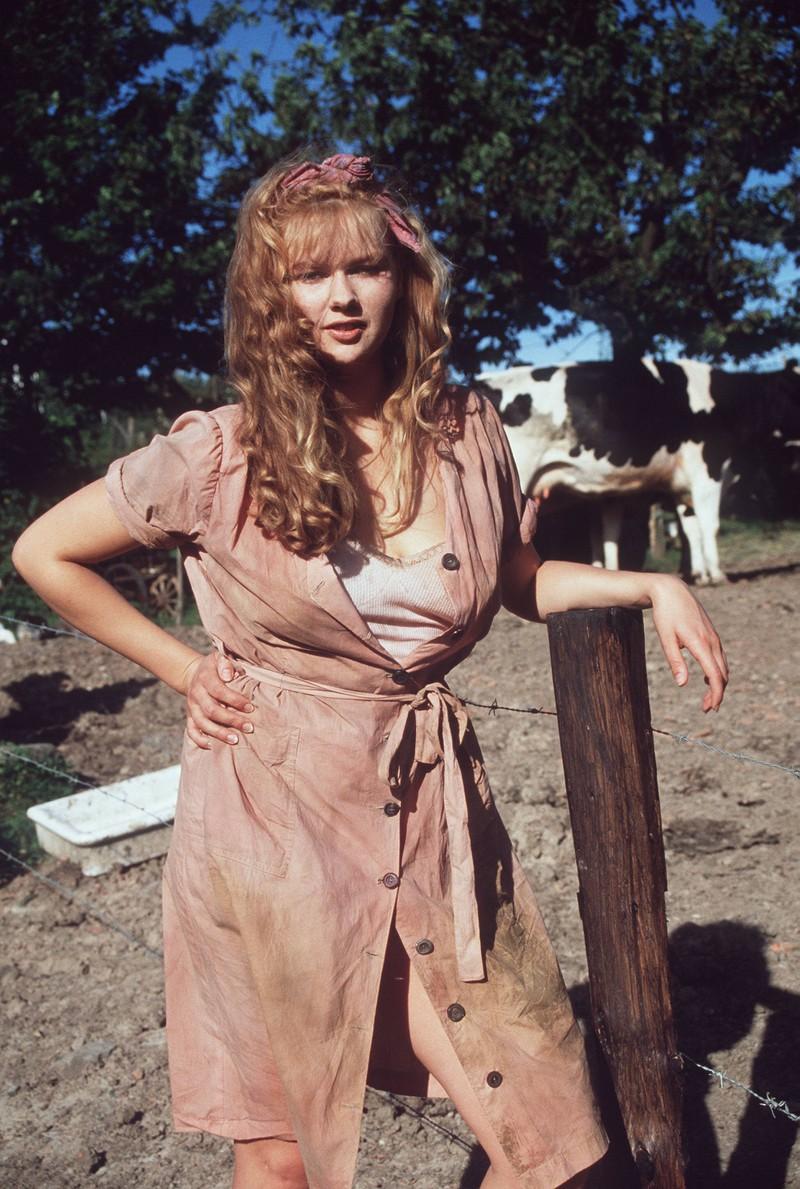 """1991 stand Veronika Ferres für den Film """"Schtonk!"""" vor der Kamera und sah damals ganz anders aus als heute."""