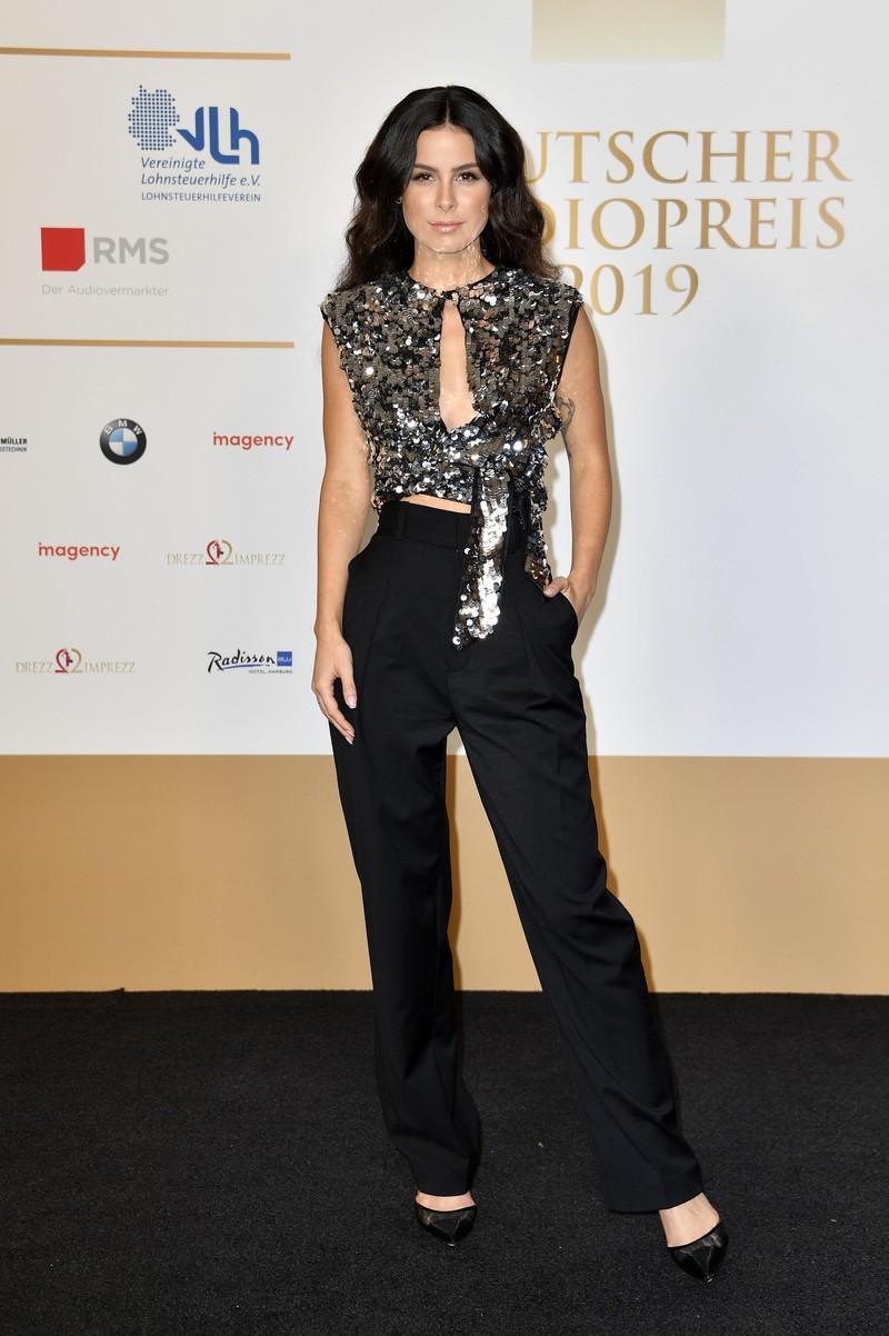 Lena Meyer-Landrut bei der Verleihung des Deutschen Radiopreises 2019 in der Elbphilharmonie.