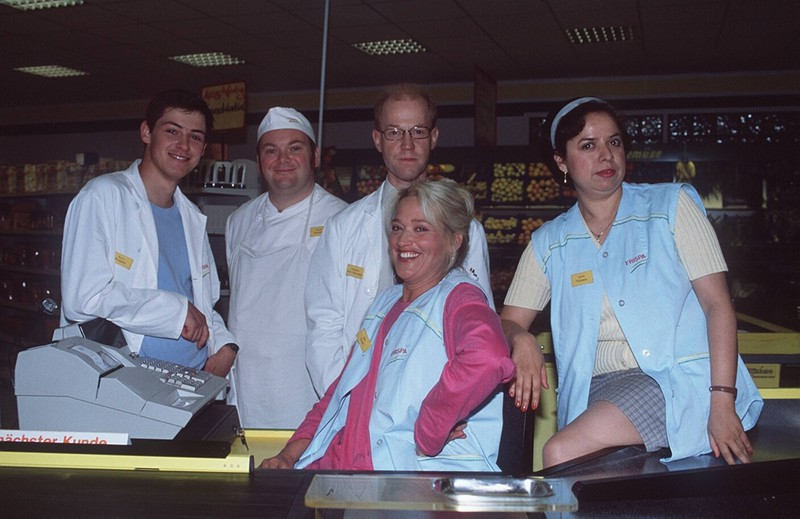 """Als """"Rita Kruse"""" brachte Gaby Köster uns mit ihrem Alltag als Kassiererin zum Lachen."""