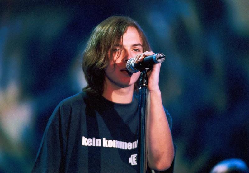 Kim Frank von der 90s Band Echt
