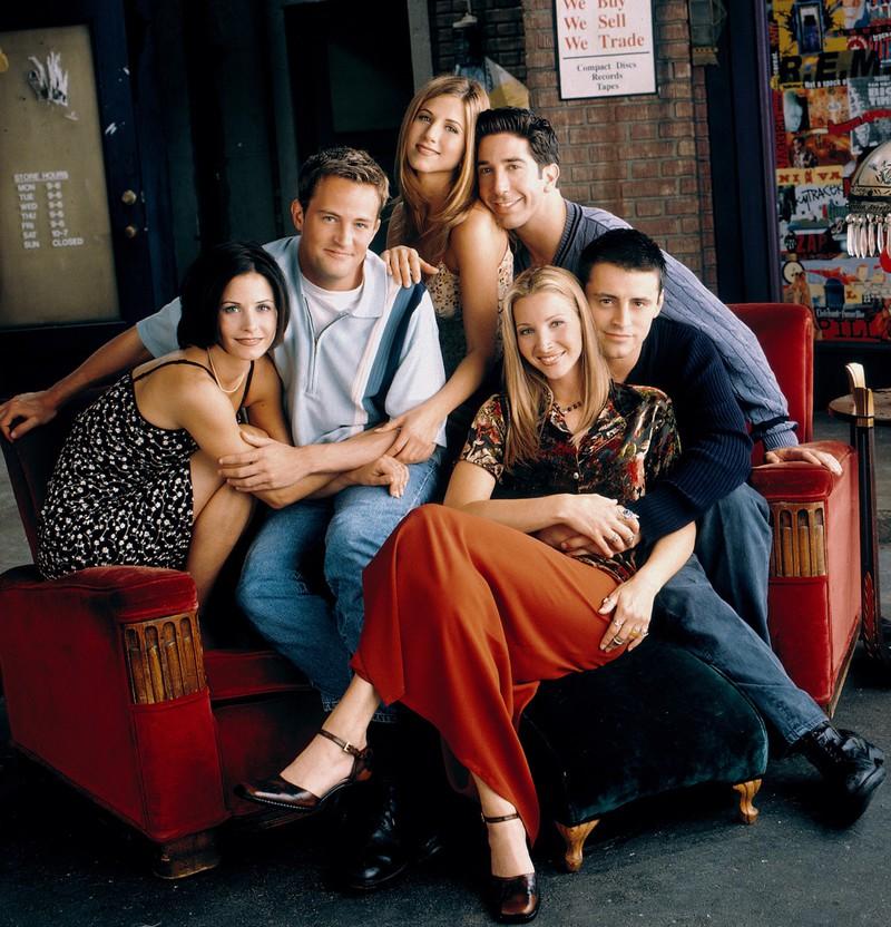 """Nun kommt es zu einer """"Friends""""-Reunion."""