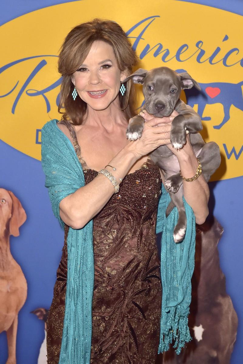 Heute ist Linda Blair ein großer Tierfan.