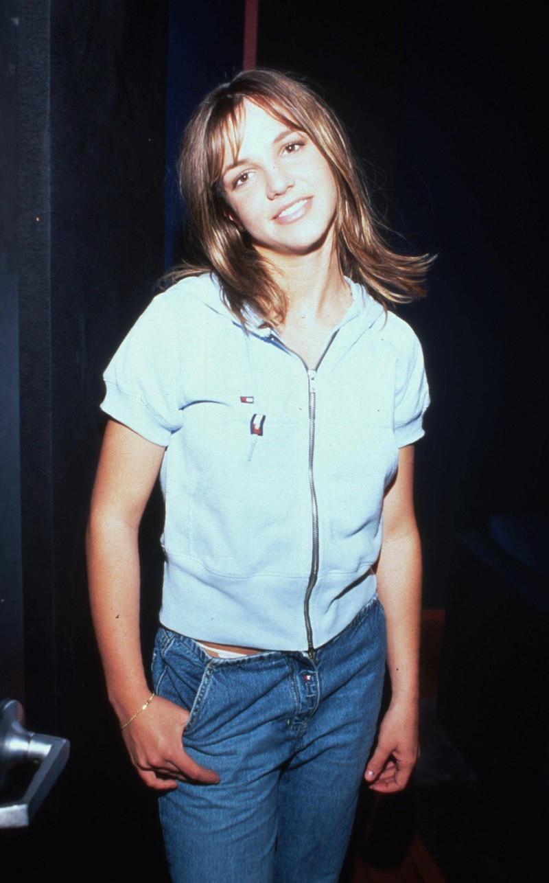 Britney Spears als junge Frau in den 90ern