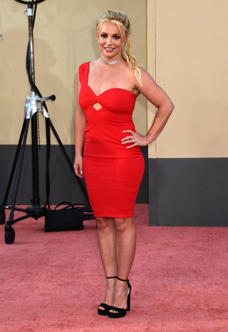 Britney Spears im Abendkleid 2019 auf einer Veranstaltung