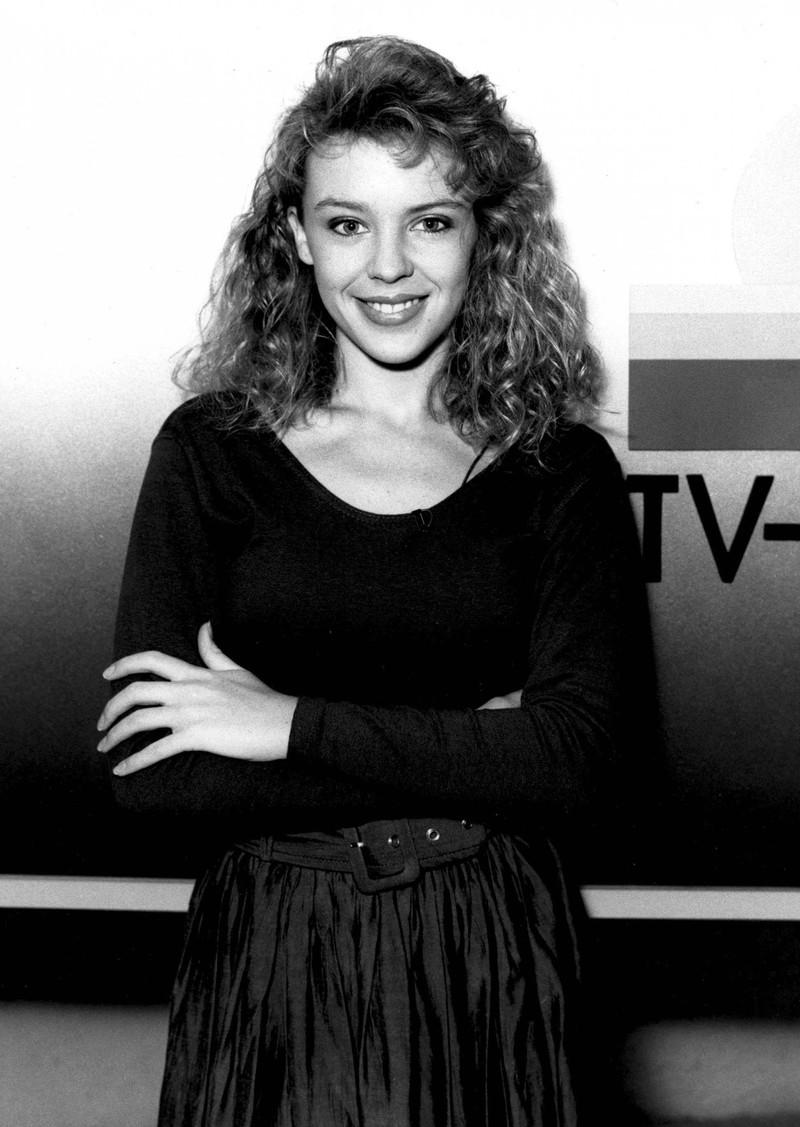 Kylie Minogue in den 90er Jahren