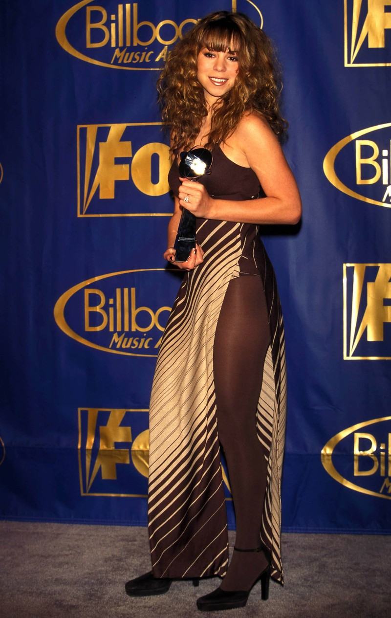 Mariah Carey in den 90er Jahren auf einer Preisverleihung