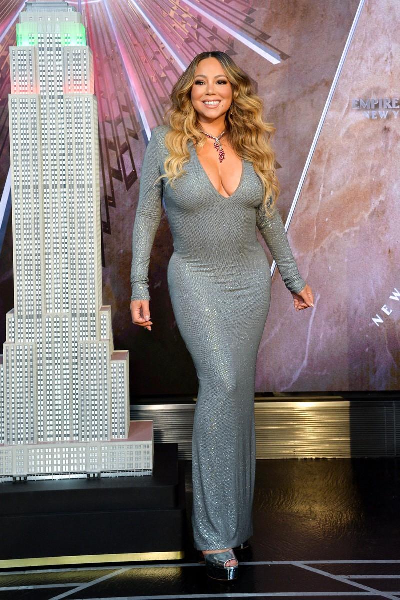 Mariah Carey in New York auf einer Preisverleihung