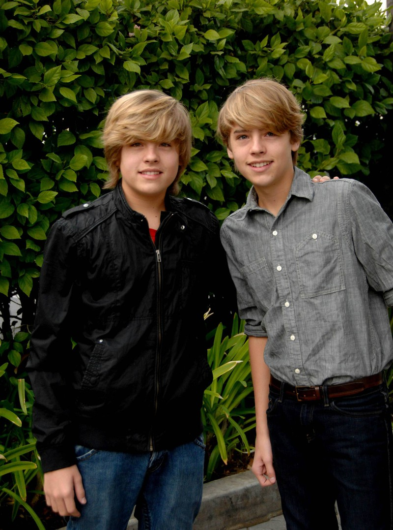 """Dylan Sprouse als Kinderstar sah eher wie ein """"flop"""" aus."""