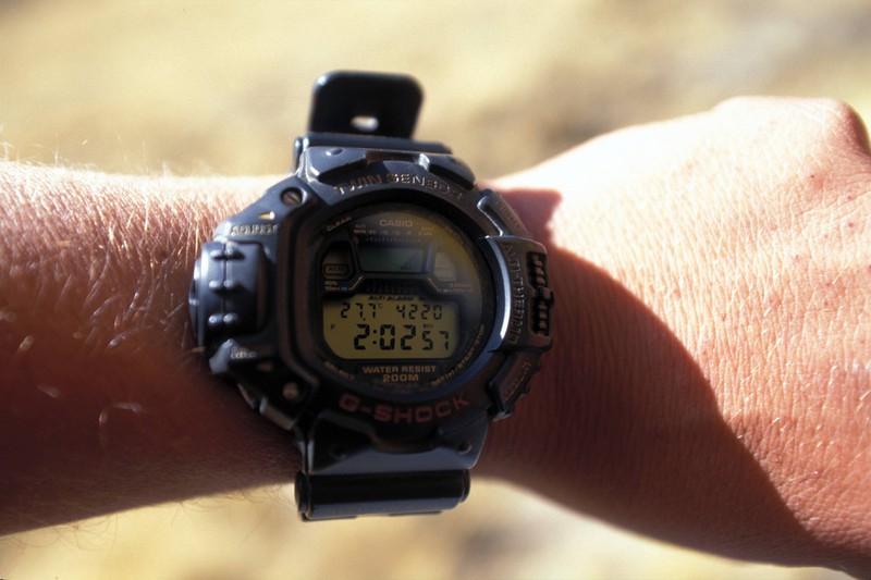 G-Shock-Uhren wurden in den 90er Jahren oft getragen.