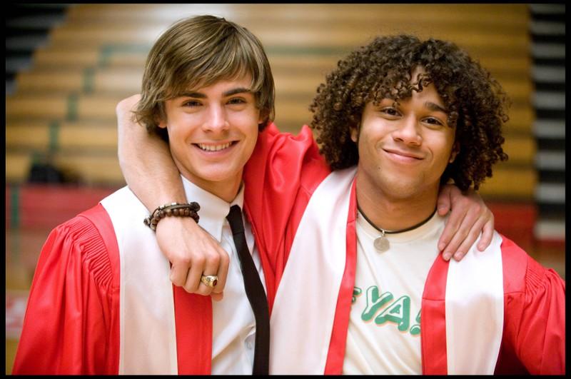 So sah Corbin Bleu bei High School Musical früher aus.