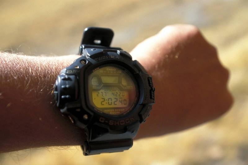 Ein Mode Fail der 90er waren auch G Shock Uhren