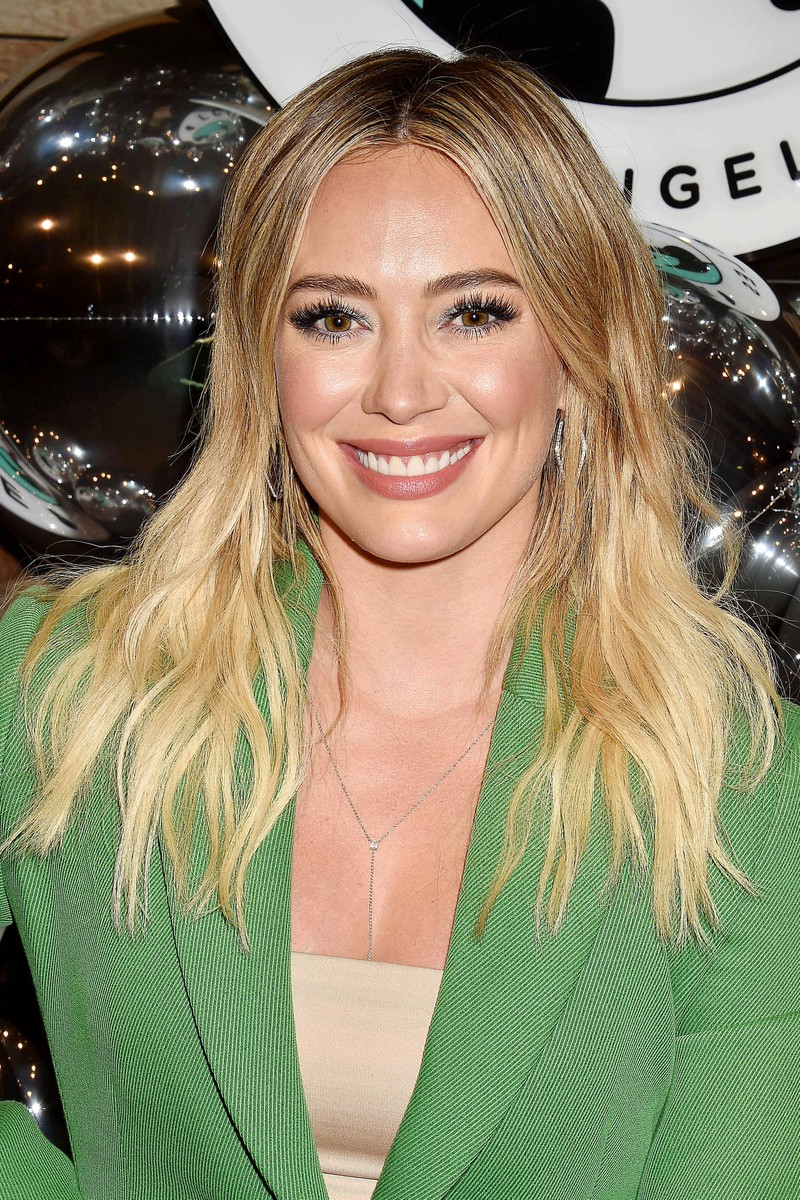 So sieht die Hauptdarstellerin aus Lizzie McGuire, Hilary Duff, heute aus