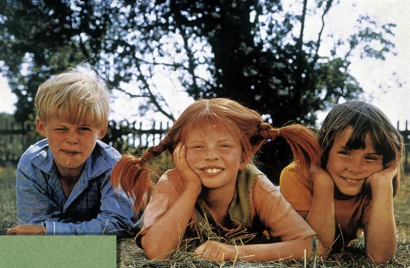 Auch die Darsteller von Pippi Langstrumpf, Tommy und Annika wurden berühmt