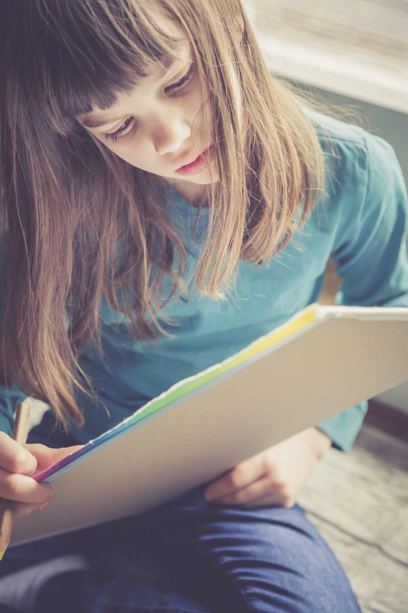 In der Schule hat in den 2010ern fast jeder auf seinem Block herumgekritzelt.