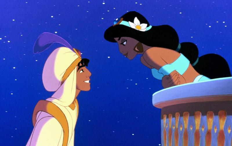 Bei Songzitaten kann man auch den Aladdin von Disney erkennen