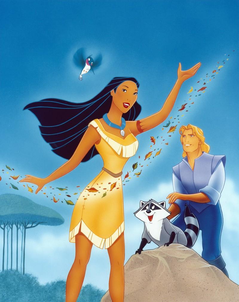 Die Quiz-Lösung ist Pocahontas.