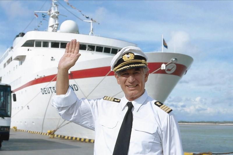 """""""Das Traumschiff"""": Kapitän Paulsen hielt 14 Jahre die Stellung an Bord."""