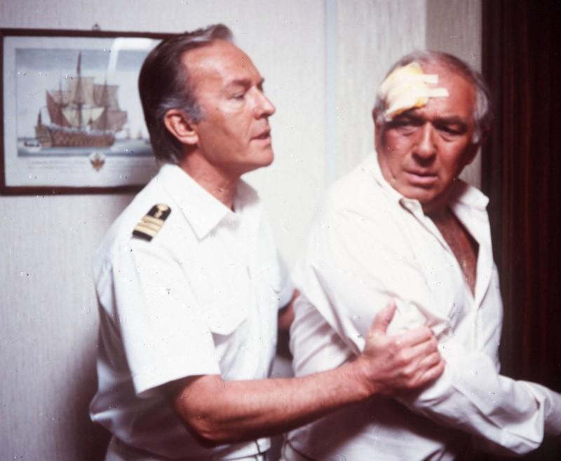 """Ein altes Bild des Stars Horst Naumann, der den Schiffsarzt Horst Schröders an Bord des """"Traumschiffs"""" spielt."""