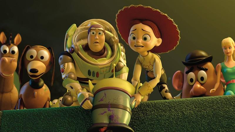 """Die Figur der """"Jessie"""" hat in """"Toy Story"""" eine harte Vergangenheit."""