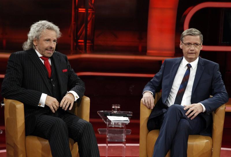 """Günther Jauch und Thomas Gottschalk gelang noch vor """"Wer wird Millionär"""" gemeinsam der Durchbruch."""