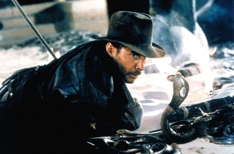 Die Schlange sorgt für einen peinlichen Fail im Film Indiana Jones