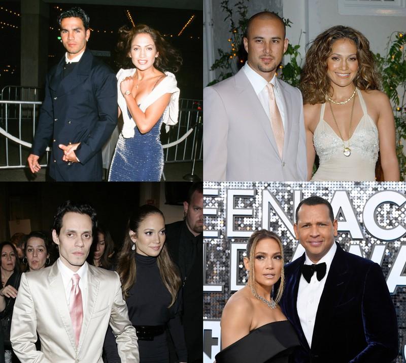 Jennifer Lopez ist bereist zum vierten Mal verheiratet, ihre Ehemänner: Alex Rodriguez, Ojani Noa, Chris Judd, Marc Anthony